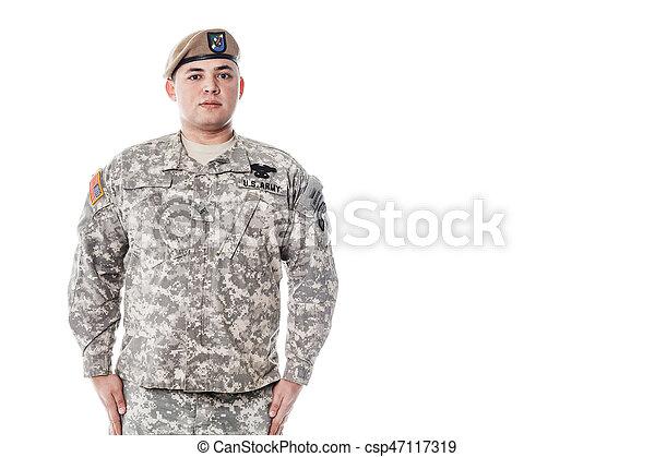 stany, obieżyświat, zjednoczony, armia - csp47117319