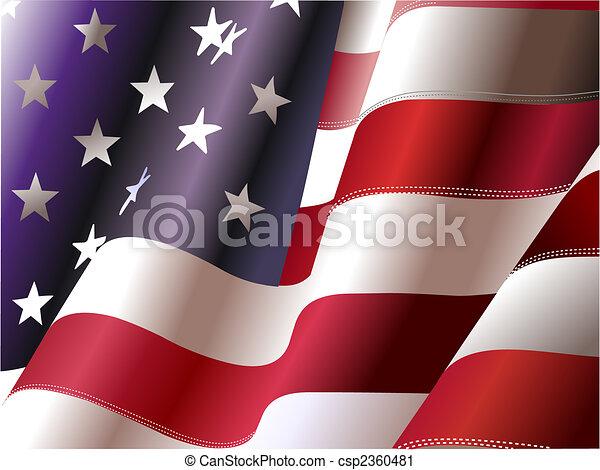 stany, zjednoczony, –, afisz, projektanci, niezależność, 4, dzień, america., lipiec, graficzny - csp2360481