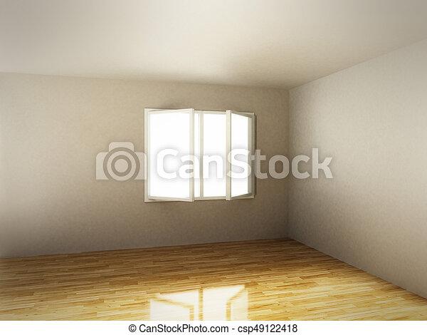 Pareti In Legno Bianco : Stanza legno duro illustrazione pareti floor bianco vuoto
