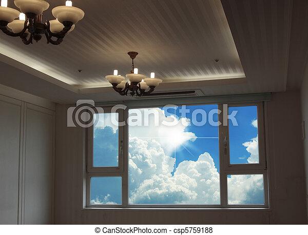 stanza, vita moderna - csp5759188