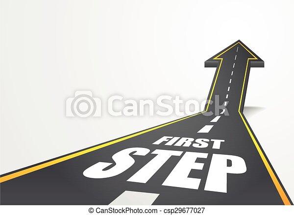 stap, eerst - csp29677027