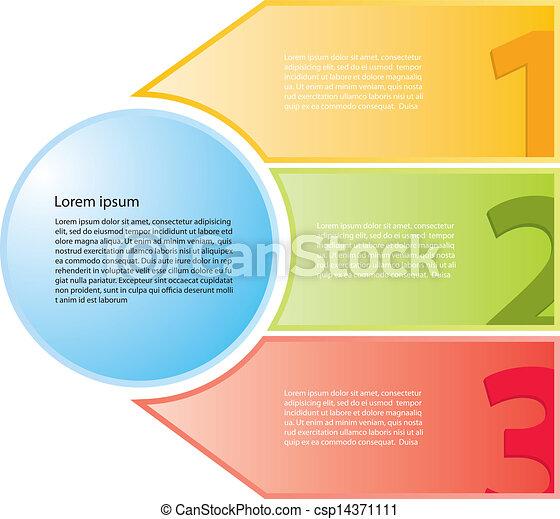 stap, spandoek, infographics - csp14371111
