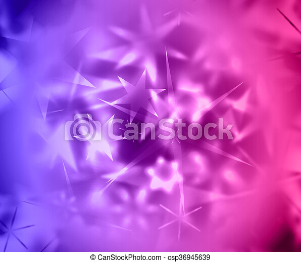 Star Abstract Background Beautiful Banner Wallpaper Design Illustration