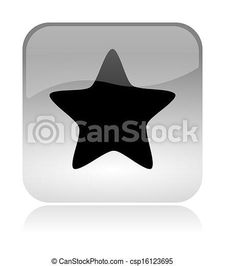 Star App Icon - csp16123695