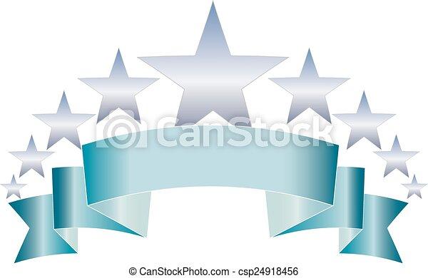 STAR BANNER - csp24918456