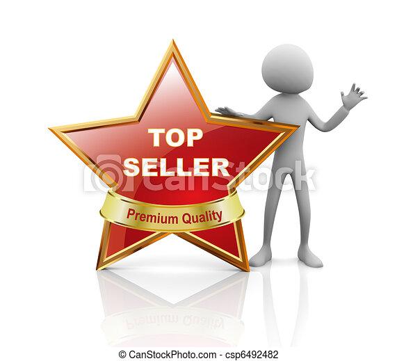 Star best seller  - csp6492482