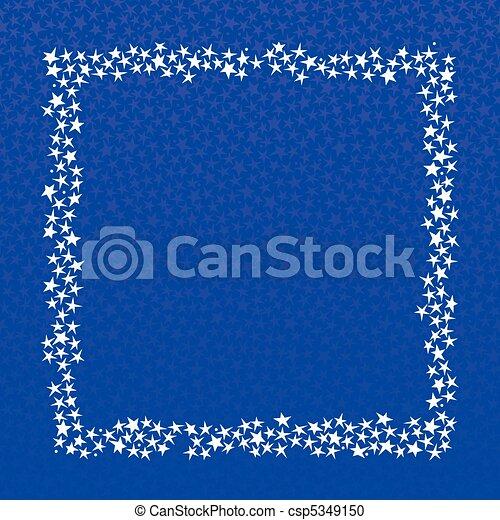 Star border - square - csp5349150