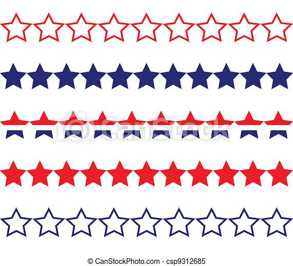 star border vector clipart royalty free 33 407 star border clip art