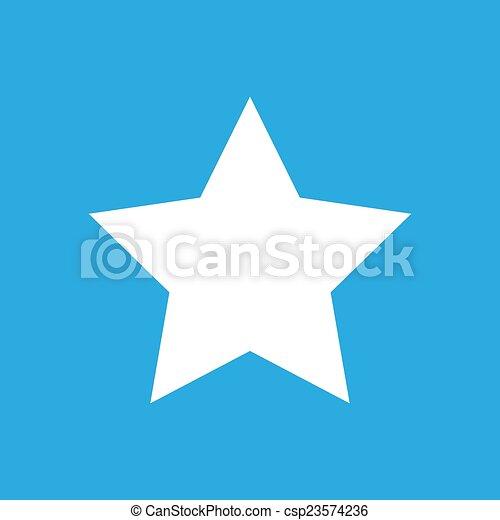 Star flat icon - csp23574236