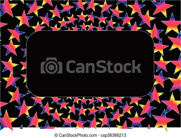 Star frame - csp36366213