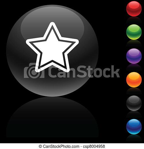 Star icon. - csp8004958