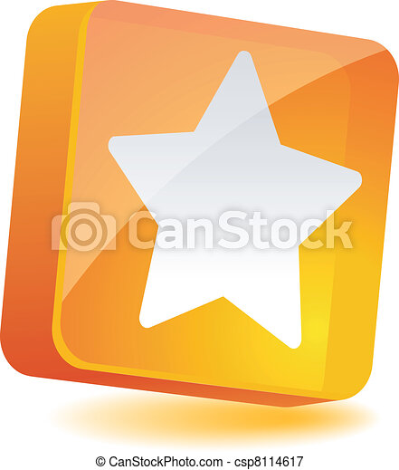 Star Icon. - csp8114617