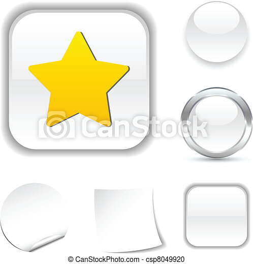 Star icon. - csp8049920