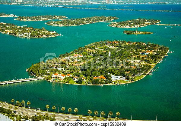 Star Island in Miami - csp15932409