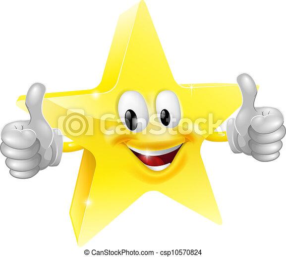 Star mascot - csp10570824