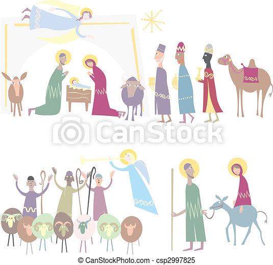 Star of Bethlehem. Nativity  - csp2997825