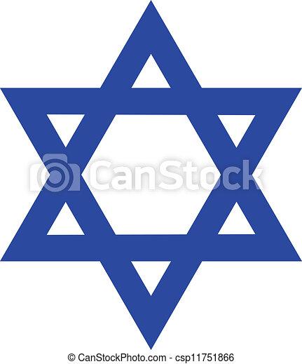 Star of David - csp11751866