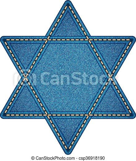 Star of David - csp36918190