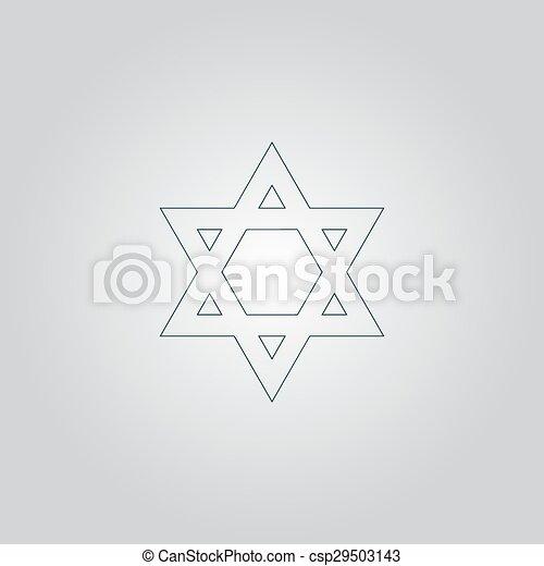 Star of David - csp29503143