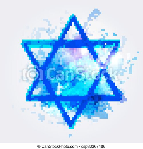 star of David - csp30367486