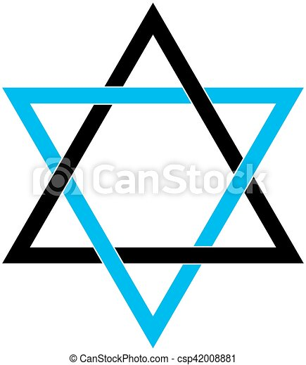 Star of David - csp42008881