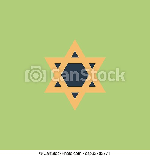 Star of David - csp33783771