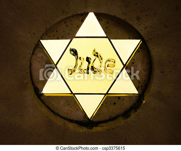 Star of David - csp3375615