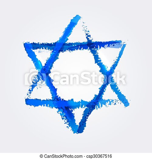 star of David - csp30367516