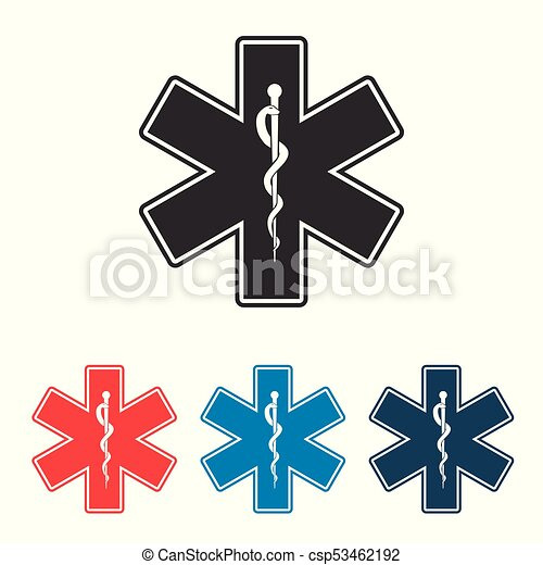Star Of Life Emergency Medical Symbol Vector Eps Vectors Search