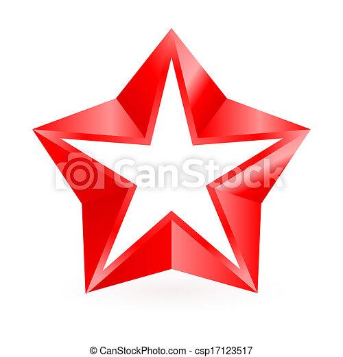 star., rotes  - csp17123517