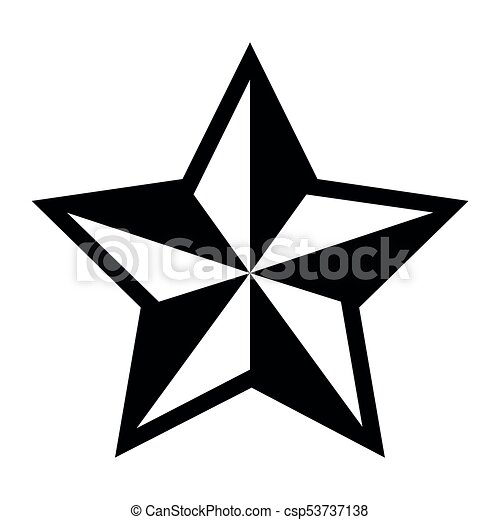 star shape silhouette silhoutte of a star shape vector vectors rh canstockphoto com  star shape clipart black and white
