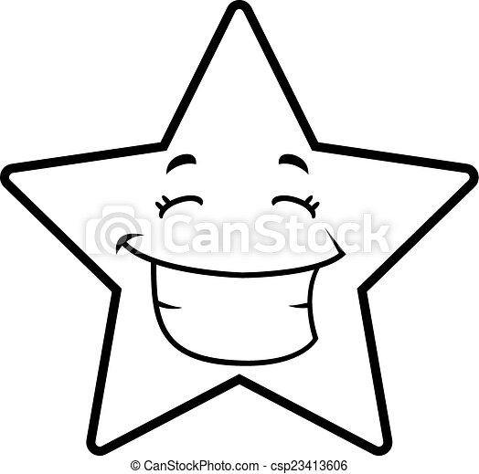 Star Smiling - csp23413606
