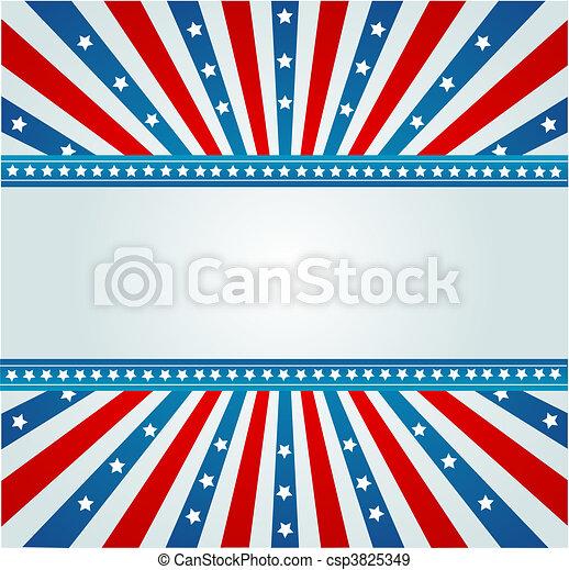 Star Spangled Banner - csp3825349