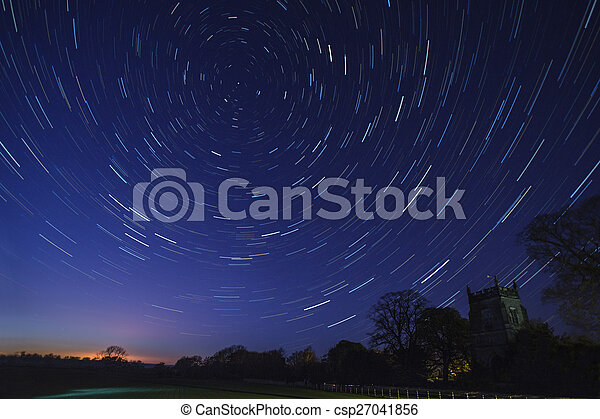 Star Trails - Astronomy - csp27041856