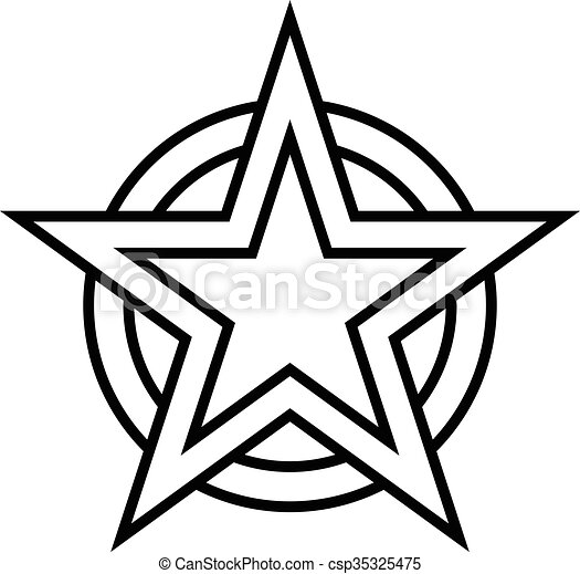star vector icon vectors illustration search clipart drawings rh canstockphoto com star vector art free star wars vector artwork