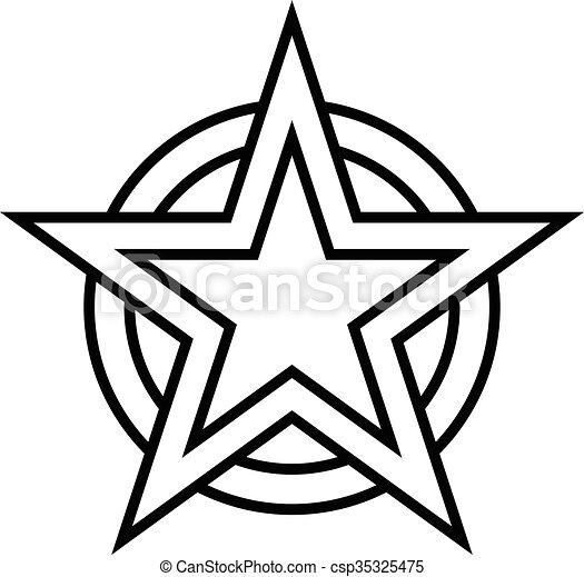star vector icon vectors illustration search clipart drawings rh canstockphoto com star clipart vector star vector artwork