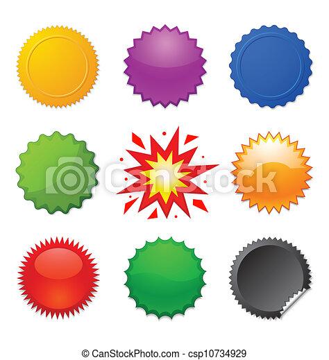starburst, cachets - csp10734929