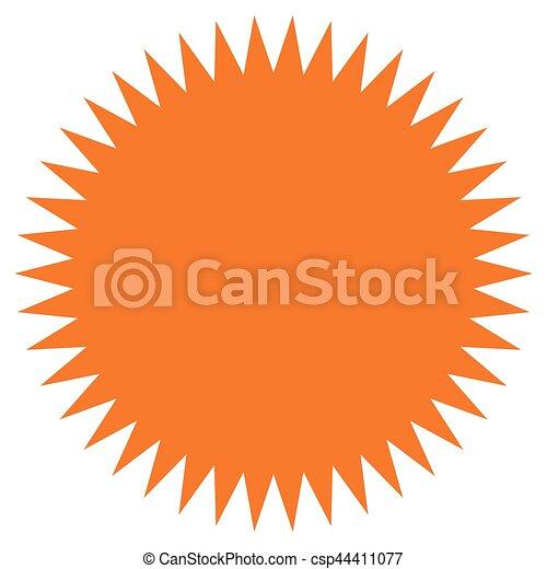 starburst sunburst shape flat price tag price flash icon vectors rh canstockphoto com sunburst image clipart sunburst clipart free