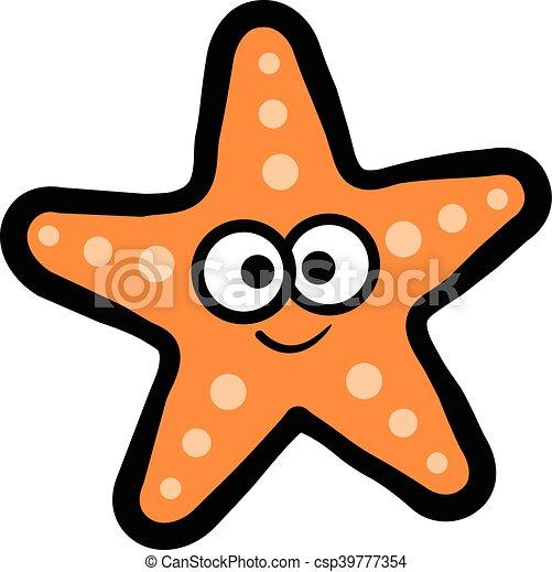 starfish sea creature vector clipart vector search illustration rh canstockphoto com Jellyfish Clip Art Pink Starfish
