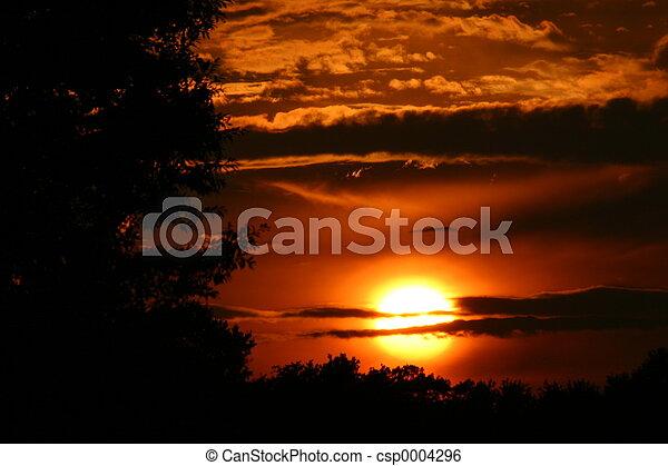 stark sunset - csp0004296