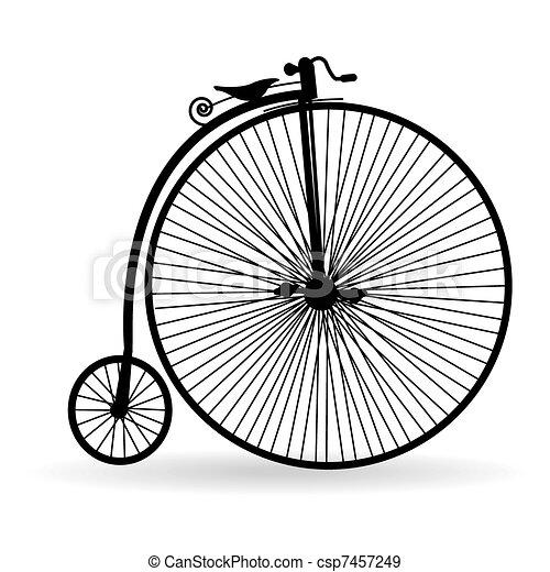 starożytny, rower - csp7457249