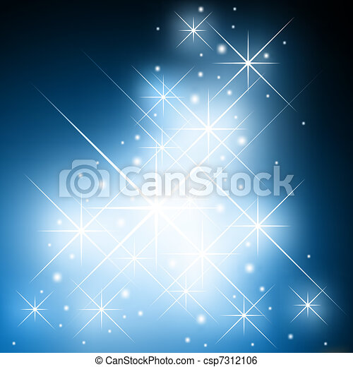 Starry background - csp7312106