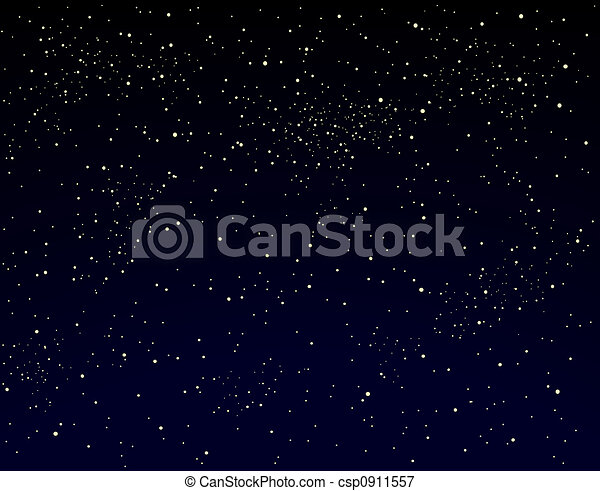 Starry sky - csp0911557