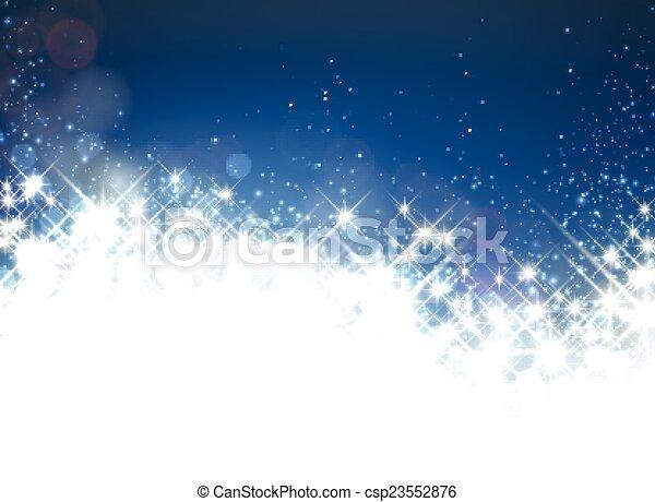 Winterstarischer Hintergrund. - csp23552876