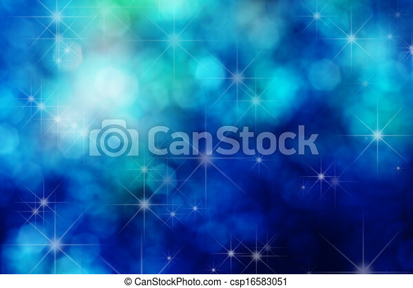 Stars and Bokeh Background - csp16583051