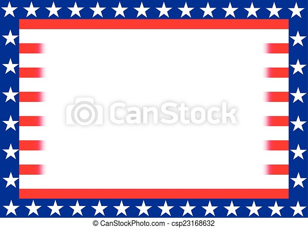 STARS AND STRIPE background - csp23168632