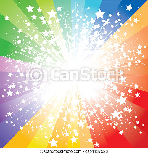 Stars burst - csp4137528