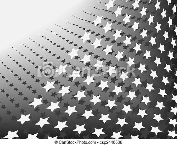 Line Art Vector Design : Stars in stripes abstract editable vector design of ranks clip