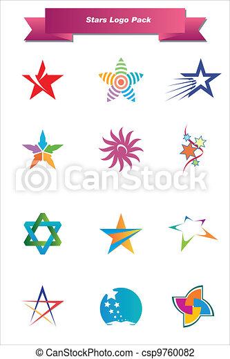 Stars Logo Pack - csp9760082