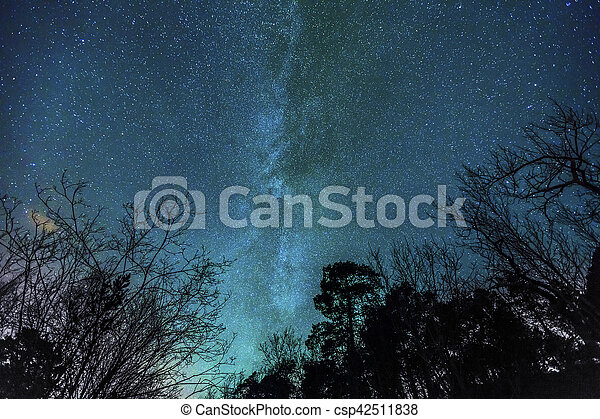 Stars of the milky way - csp42511838